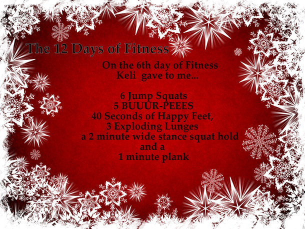 6th day of fitness