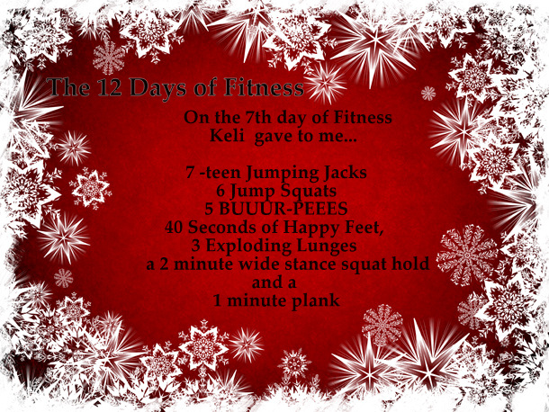 7th day of fitness